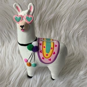 Colorful Llama Money Bank